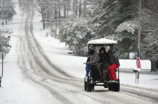 Wintertime Golf Cart Battery Tips